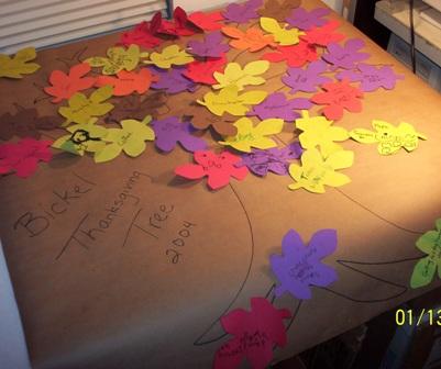 Thanksgiving Tree 2004